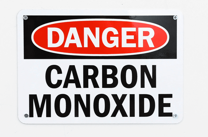 co poisoning prevention sign for Boston homeowners
