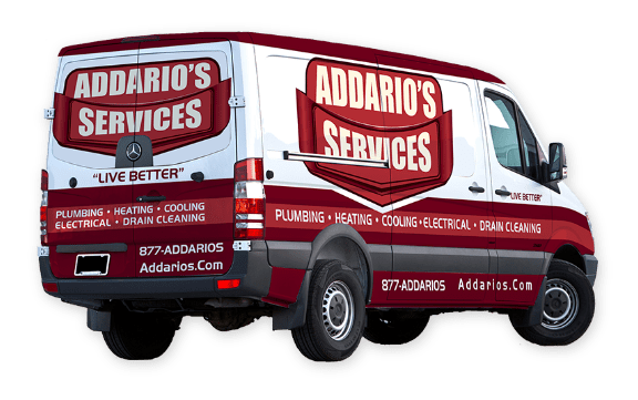 Addario's Service Van